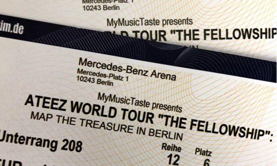Ateez Ticket
